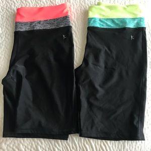 Danskin Now Compression Shorts Large